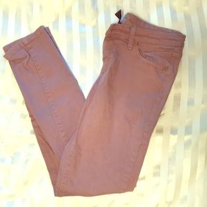 Denim - Light purple skinny jeans